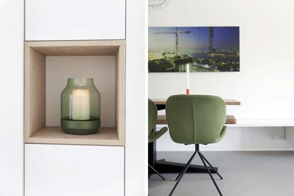 Design Woonkamer Accessoires : Een gerestylde woonkamer in ijburg interieur design by nicole