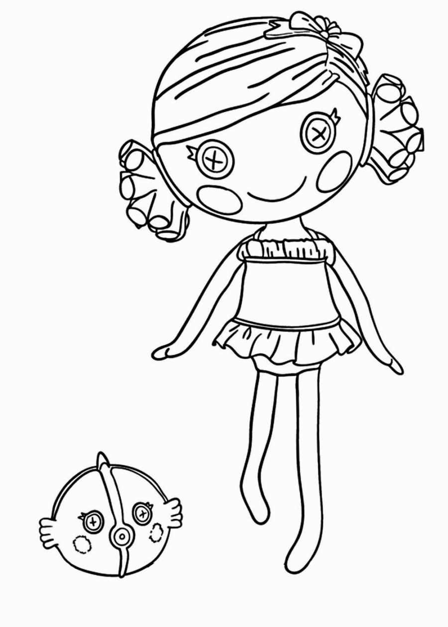 Lalaloopsy Coloring Pages Mermaid Coloring Pages Fairy Coloring Pages Coloring Pages For Girls