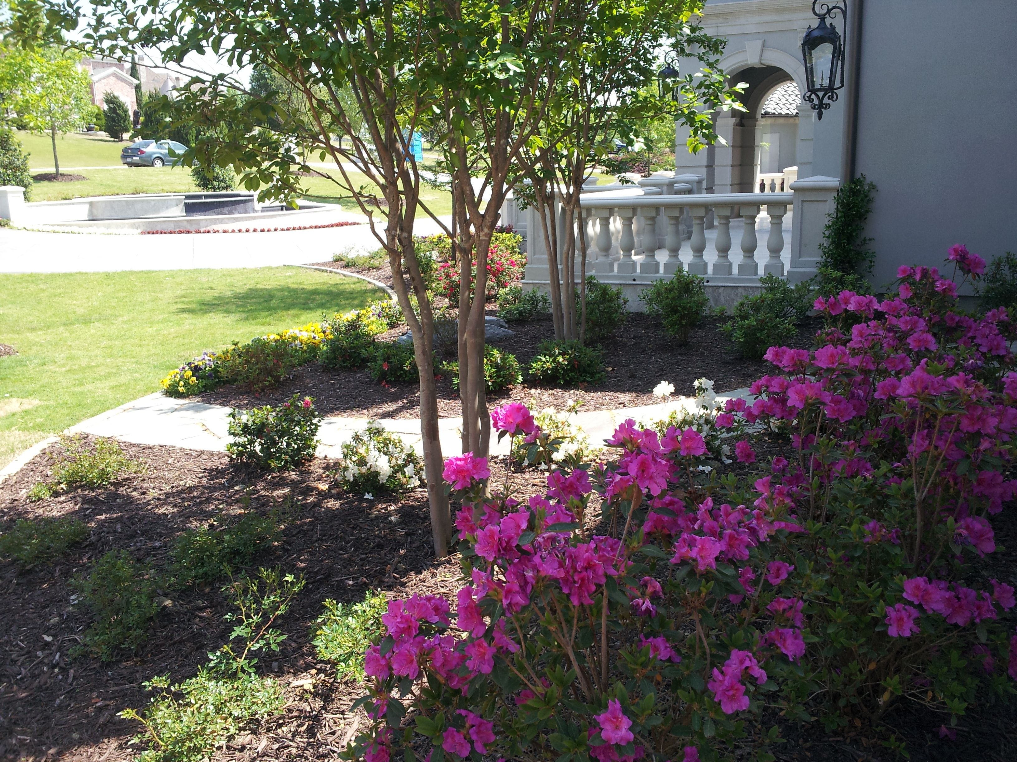 Beautiful Landscape In Heath Texas Installed By Design Masters Landscaping Landscape Projects Beautiful Landscapes Design Master