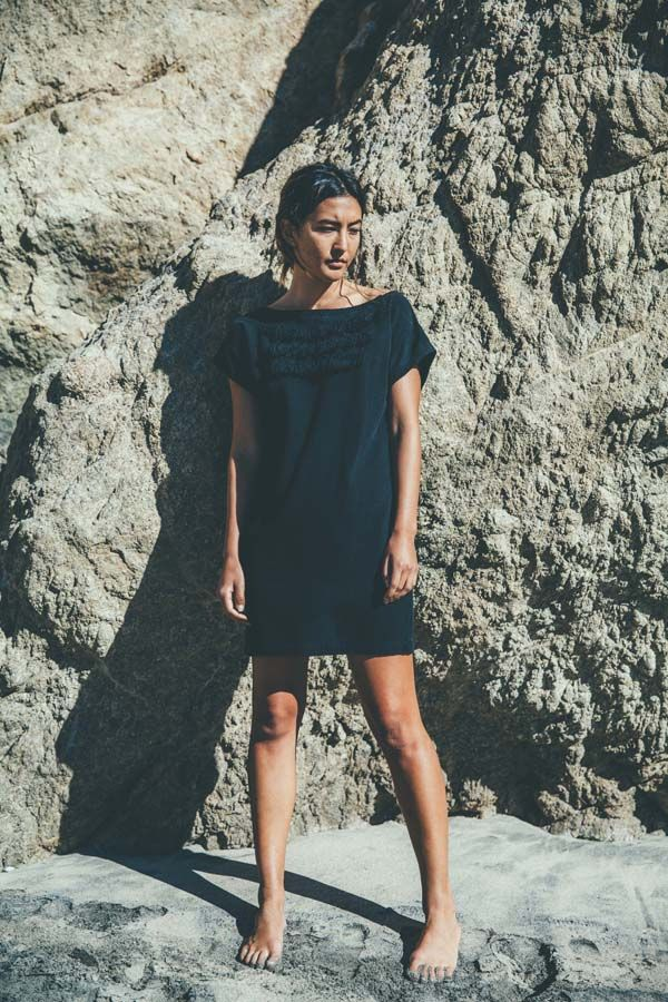 Inspired by our trips to Panama and Central America, the Fringe Dress lends striking texture to any ...