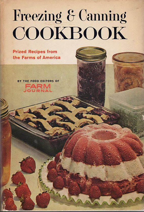 Freezing and Canning Cookbook1960s by AlwaysAClumsyHeart on Etsy, $12.00