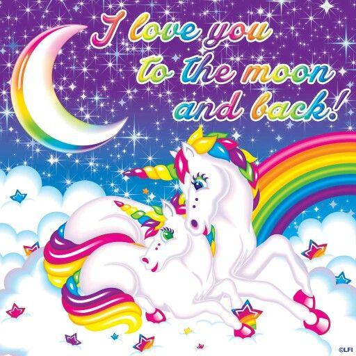 I Love You To The Moon And Back Lisa Frank Lisa Frank
