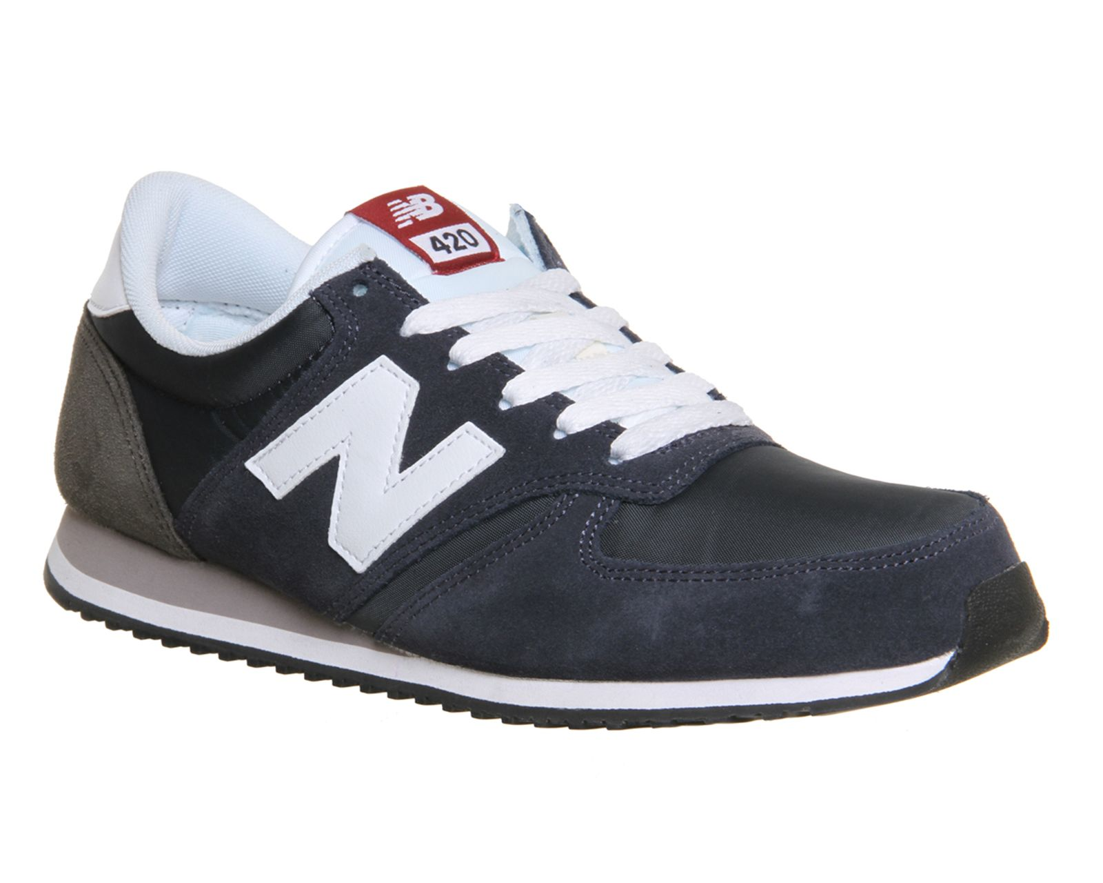 Buy Navy White New Balance U420 Trainers from OFFICE.co.uk.