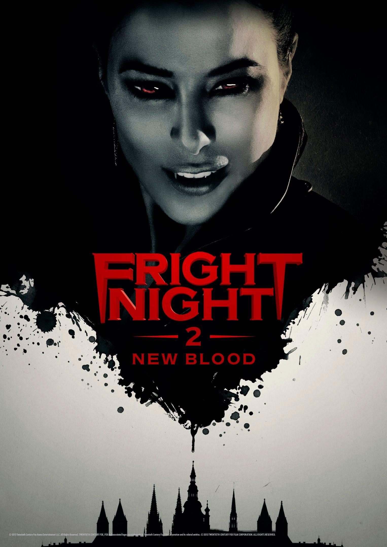 Fright Night 2 New Blood 2013 Filmes De Vampiros Filmes
