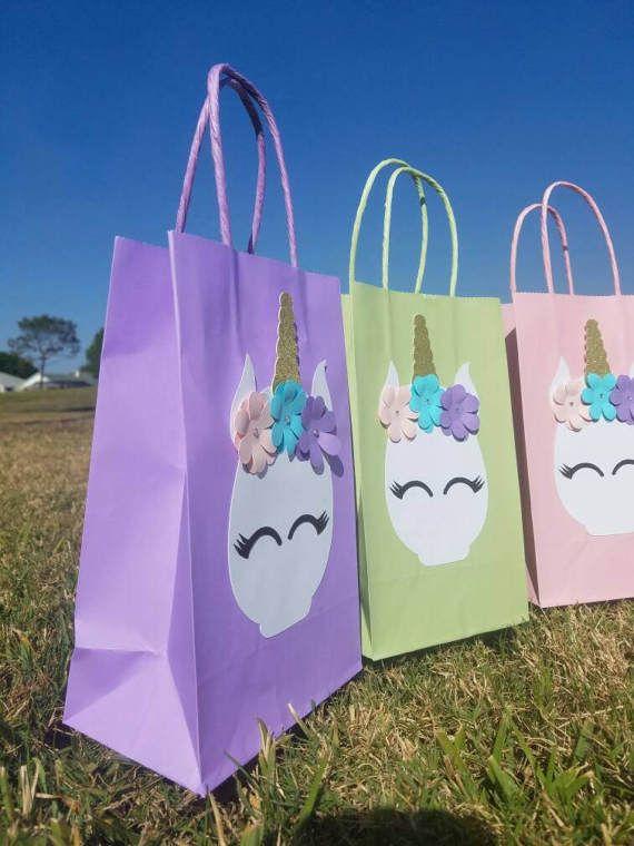 e1ba7cfe5 12 bolsas de favor de parte de unicornio | Unicornip | Fiestas de ...