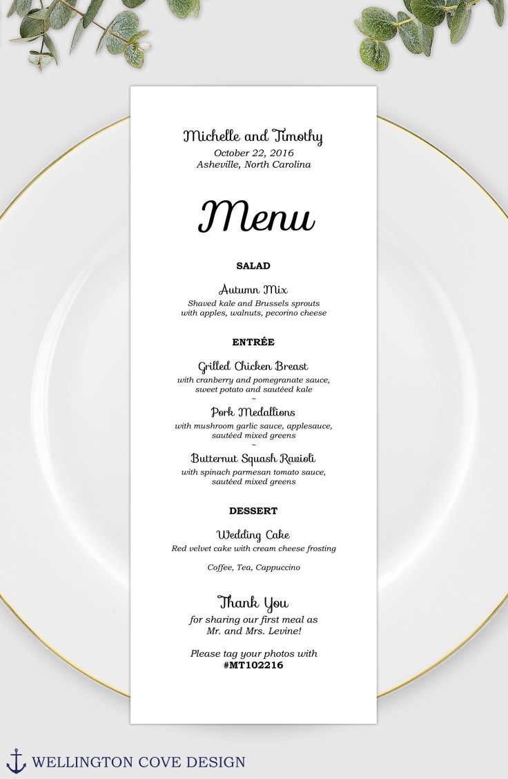 Wedding Menu Template For Microsoft Word Printable Instant Download Rehearsal Dinner Menu Bridal Shower Menu Baby Shower Menu Script Bridal Shower Menu Wedding Menu Template Baby Shower Menu