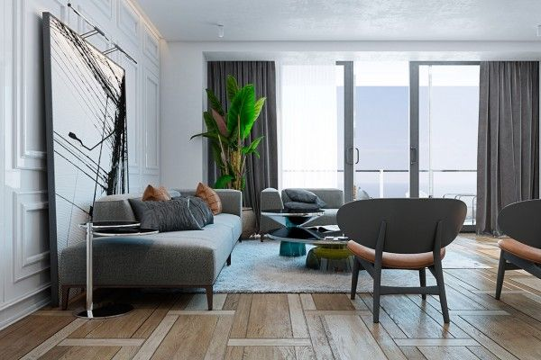 A Miami Apartment in Stormy, Muted Tones | Miami, Apartments and ...