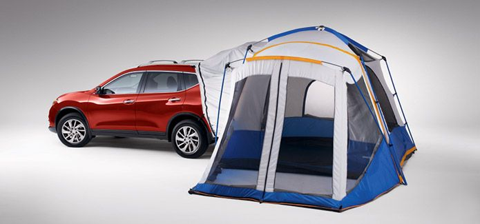 Hatch Tent for Nissan Rogue Unfolds easily to a 10u0027 x 10u0027 tent & Hatch Tent for Nissan Rogue Unfolds easily to a 10u0027 x 10u0027 tent ...
