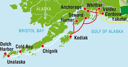 The Aleutian Islands, Dutch Harbor Alaska ~ Viking Travel, Inc. Á