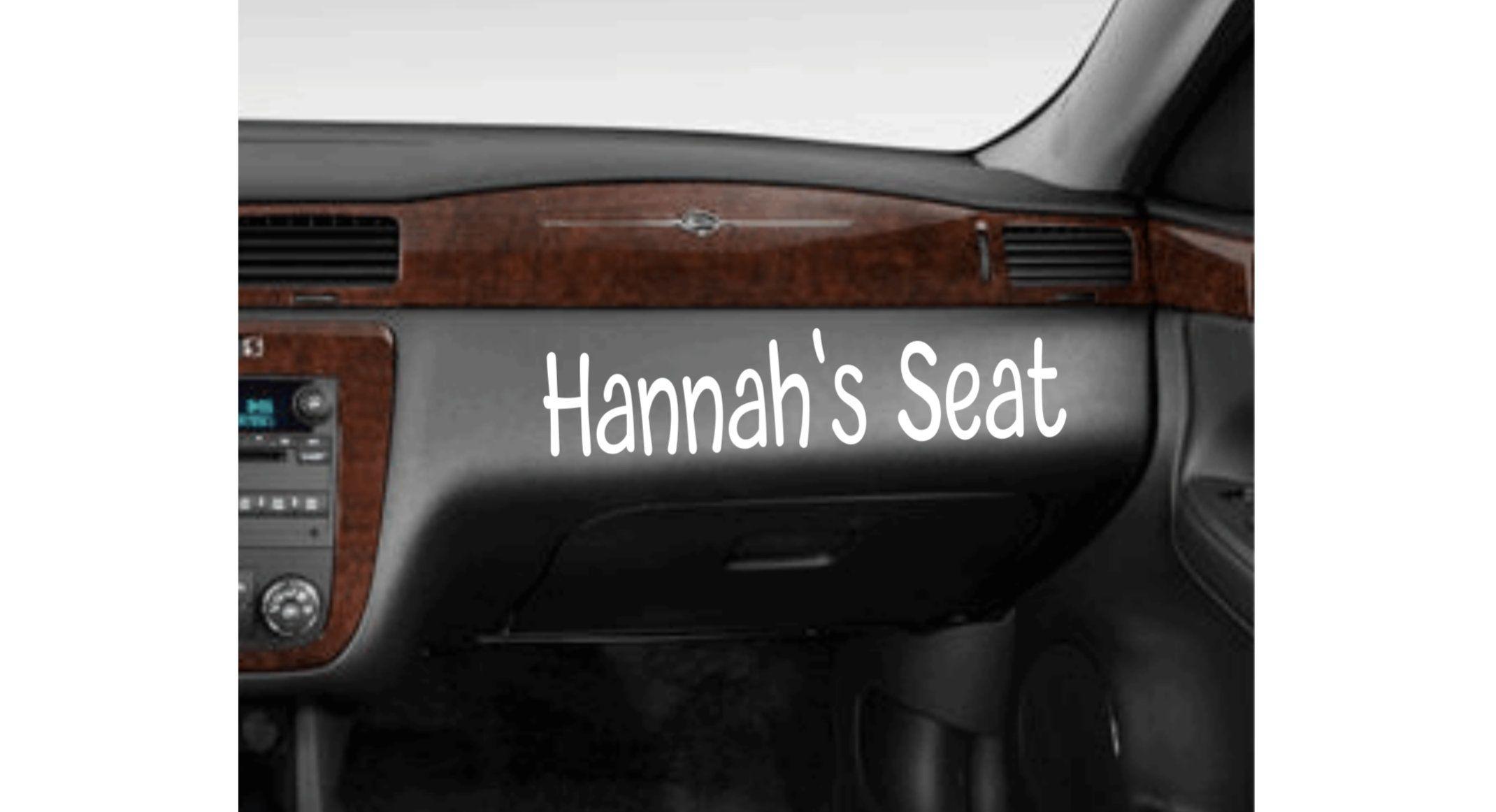 New Girlfriend Seat Sticker For Car Car Sticker Name Decal For Car Relationship Sticker Custom Name Vinyl Decal Her Seat Gift For Her Car Stickers Car Decals Vinyl Decals [ 1162 x 2140 Pixel ]