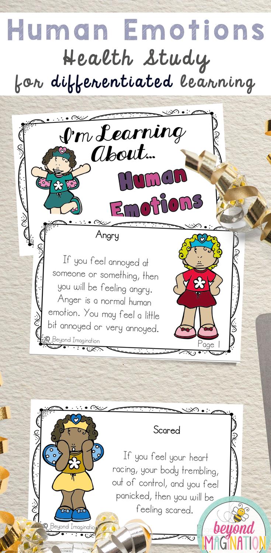 #kindergarten #worksheets #activities #emotions #teaching ...