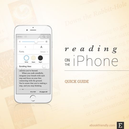 Reading on the #iPhone - quick guide
