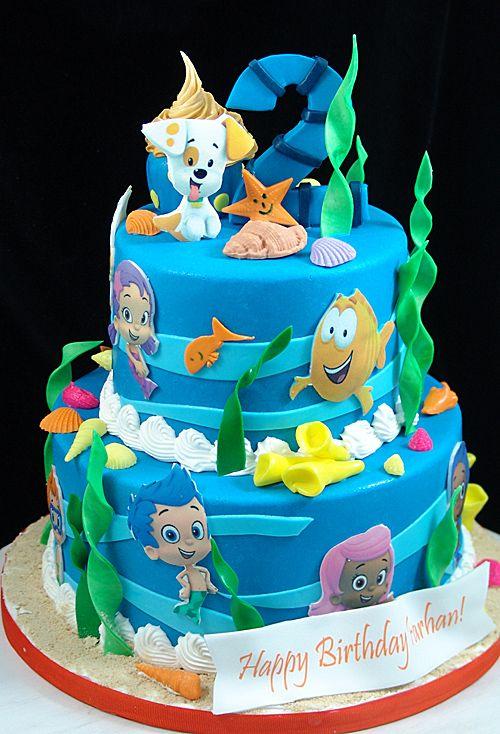 Bubble Guppies Birthday Cake Bubble Guppies Birthday Party Cake Bubble Guppies Birthday Cake