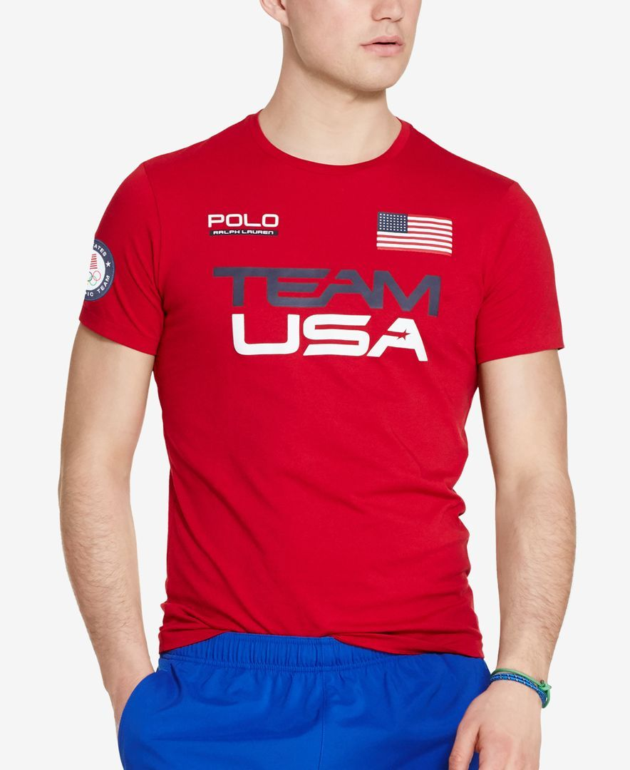 bd2dedf086 Polo Ralph Lauren Team Usa Graphic T-Shirt | Rio Olympics 2016 ...
