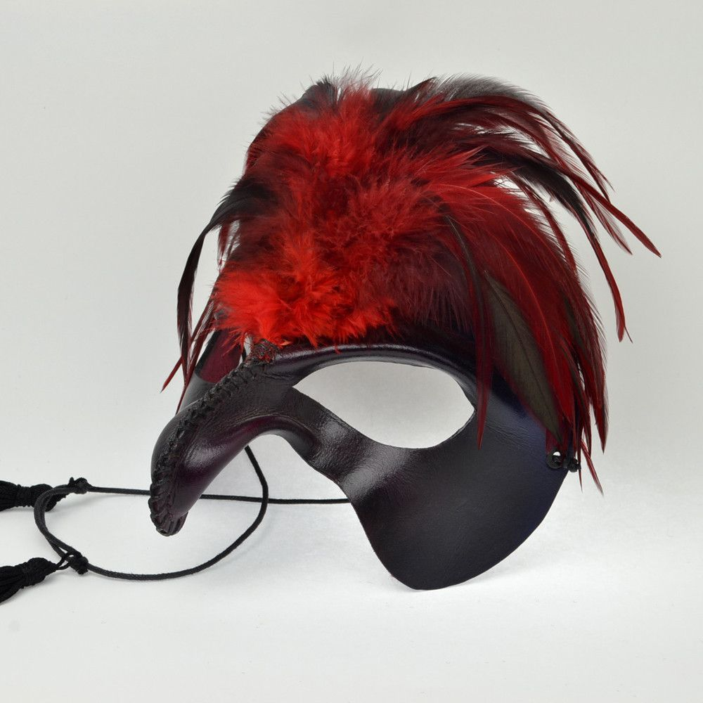 """Cyrano"" Leather Mask"