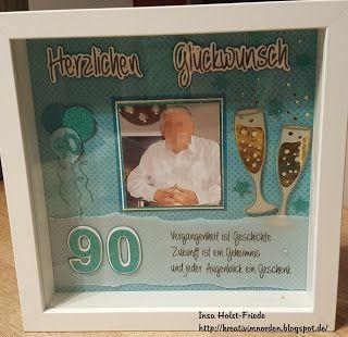 Kreativ Im Norden Zum 90 Geburtstag Ribba Frame Eigene Werke