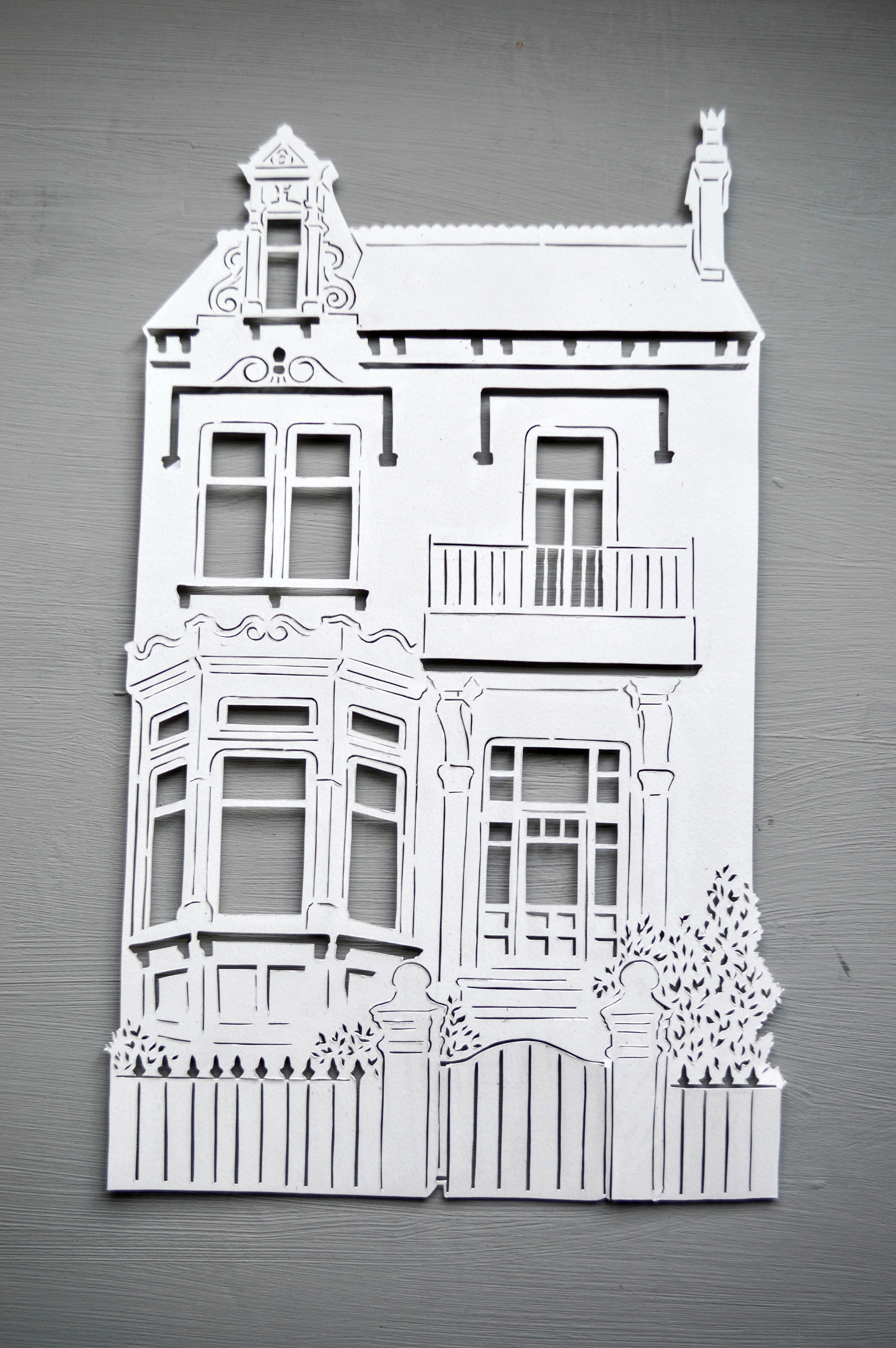 Personalised House / Home Papercut, the perfect housewarming, new ...
