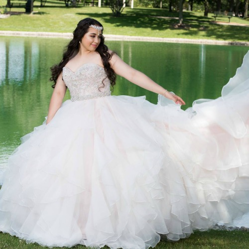 Coral Quinceanera Dresses You Have to Try On