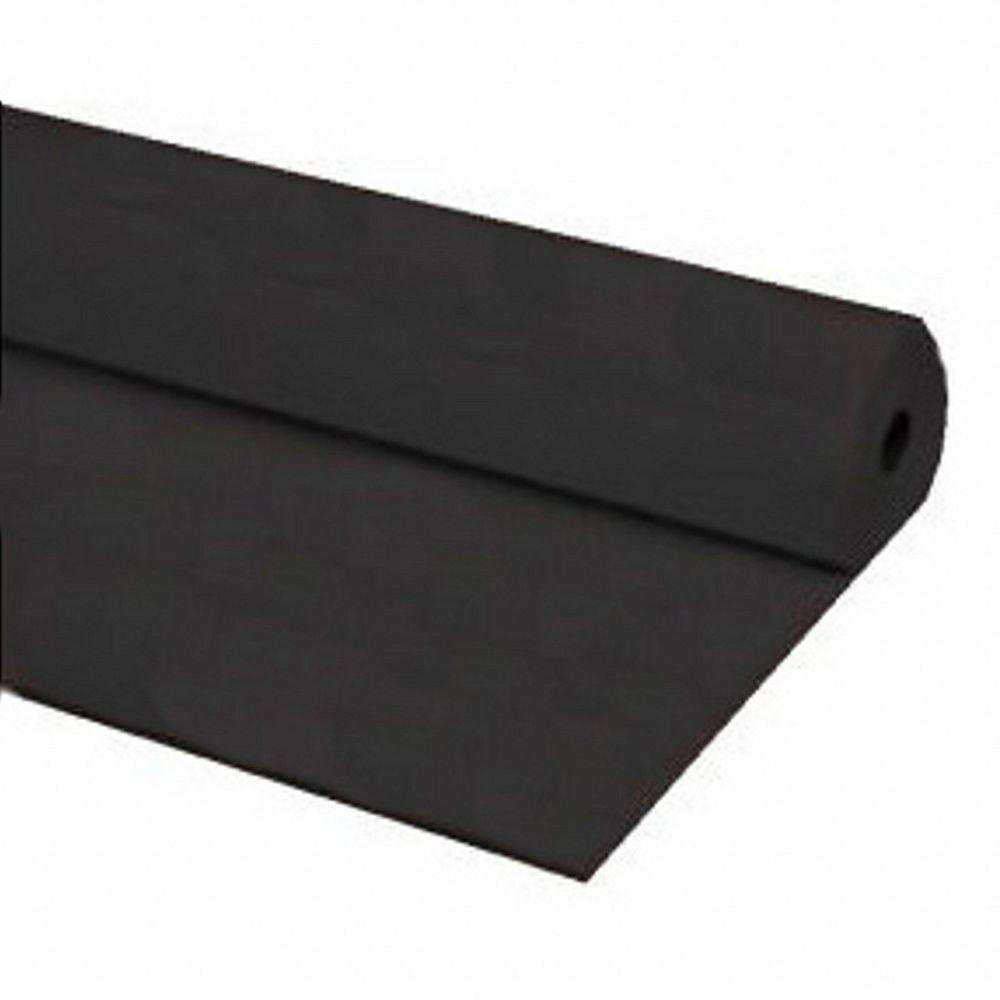 "40/""x100 ft Heavy Duty  Banquet Roll Plastic Table Cloth Black"