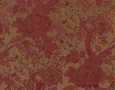 tessuto damascato per tende ALTHEA Fadini Style