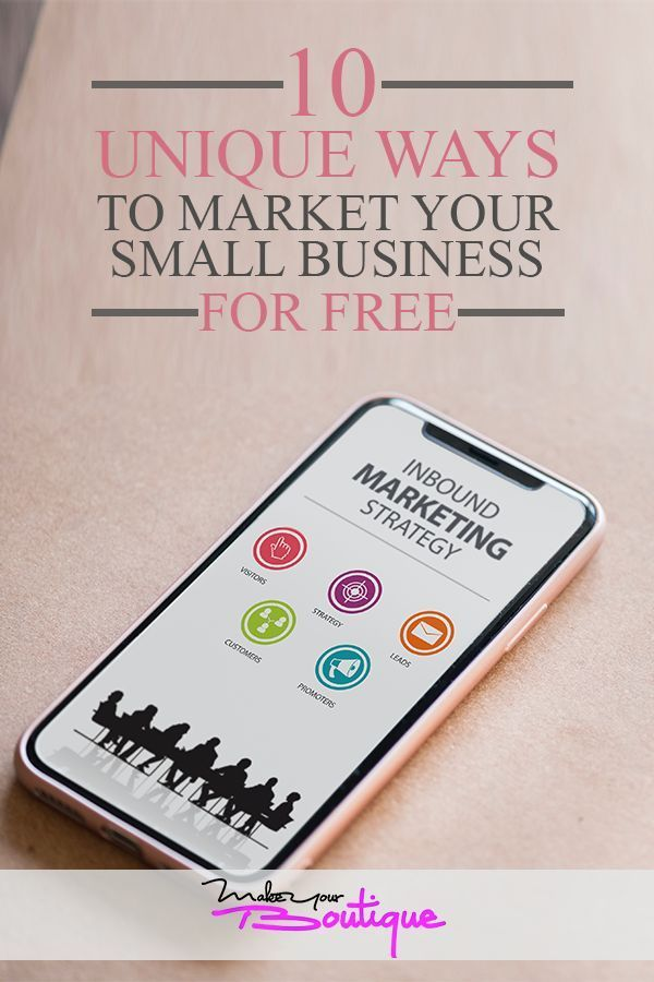 10 Unique Ways to Market Your Small Business For Free