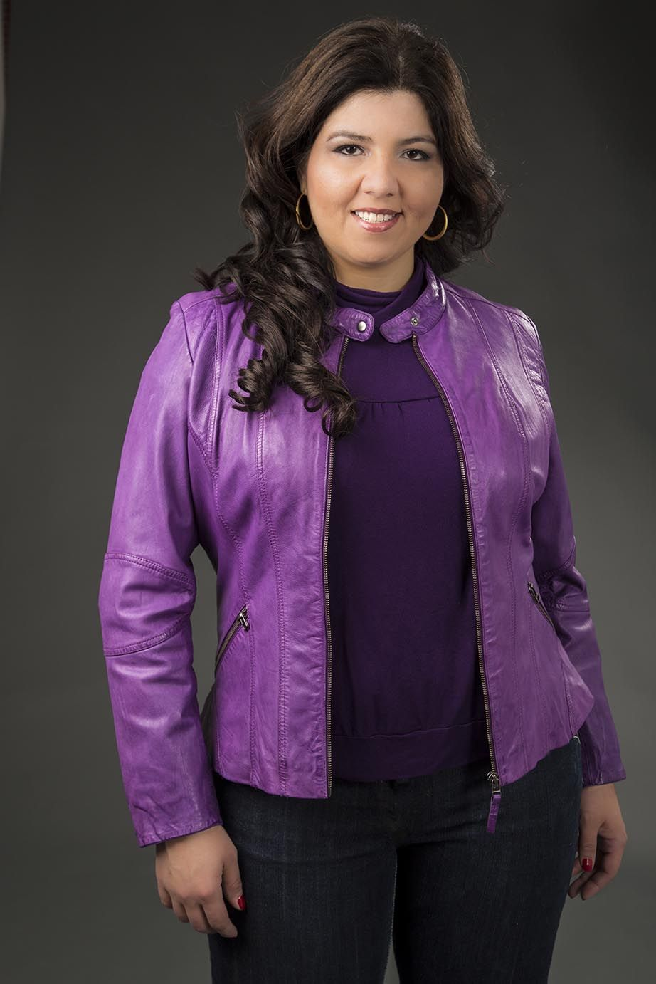 Leather Jacket for plus size women Plus size leather