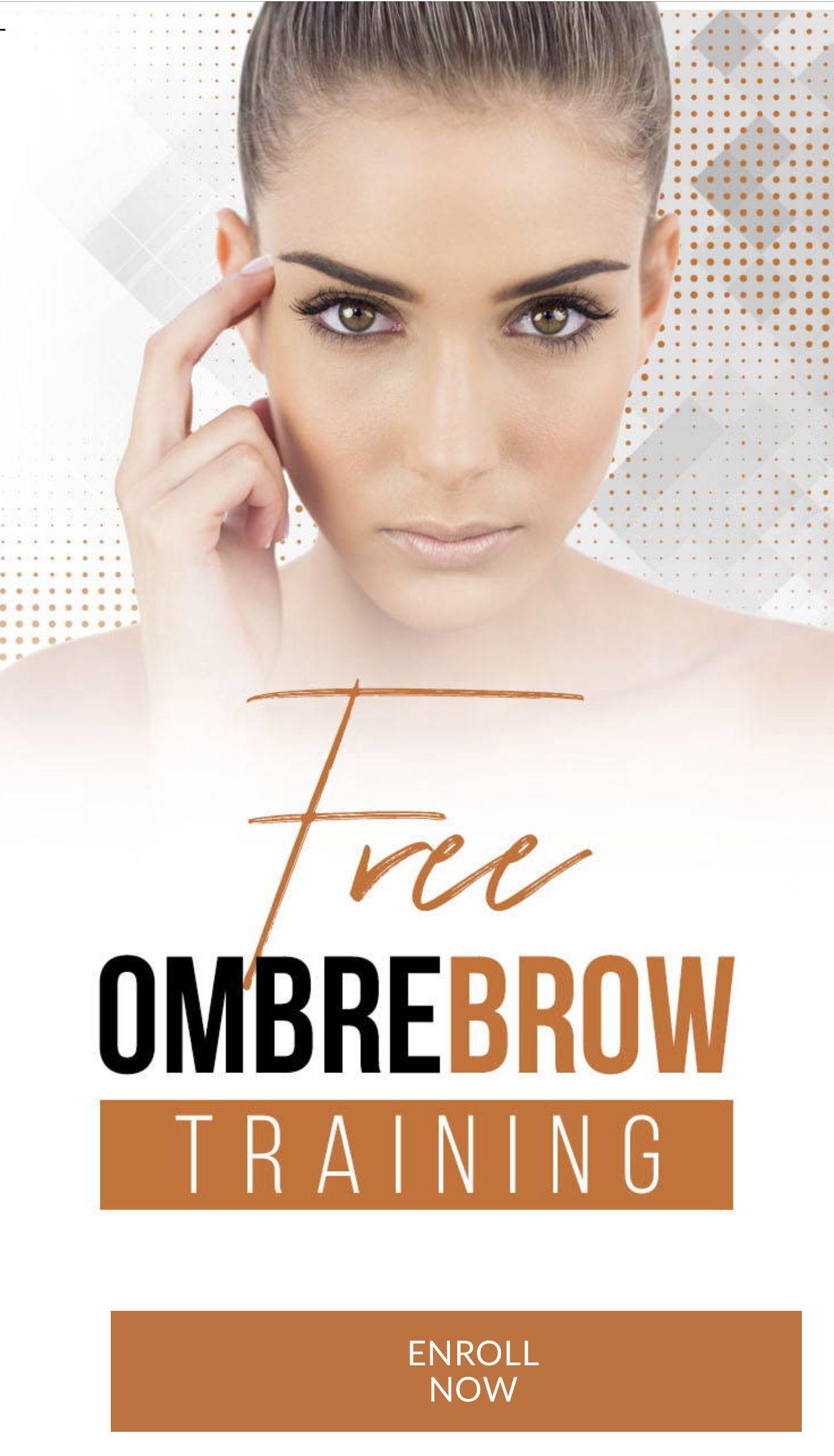 Ombré Brows in 2020 Brows, Ombre technique, Permanent makeup