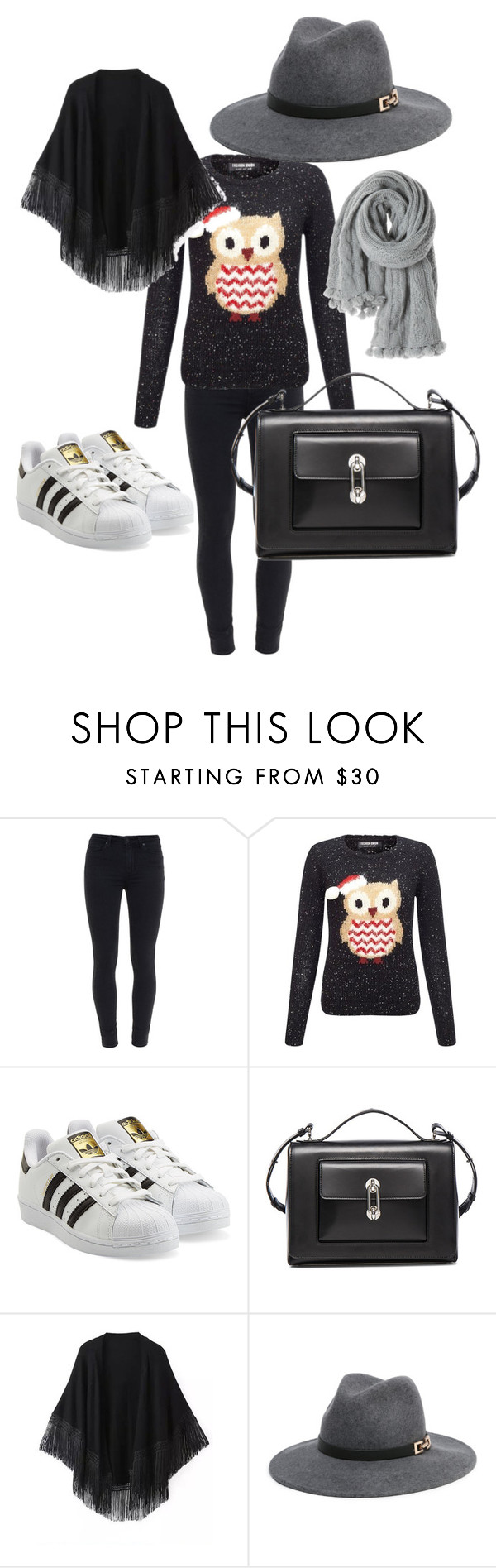 """Casual look"" by myrdosrey ❤ liked on Polyvore featuring interior, interiors, interior design, hogar, home decor, interior decorating, Paige Denim, Lipsy, adidas Originals y Balenciaga"