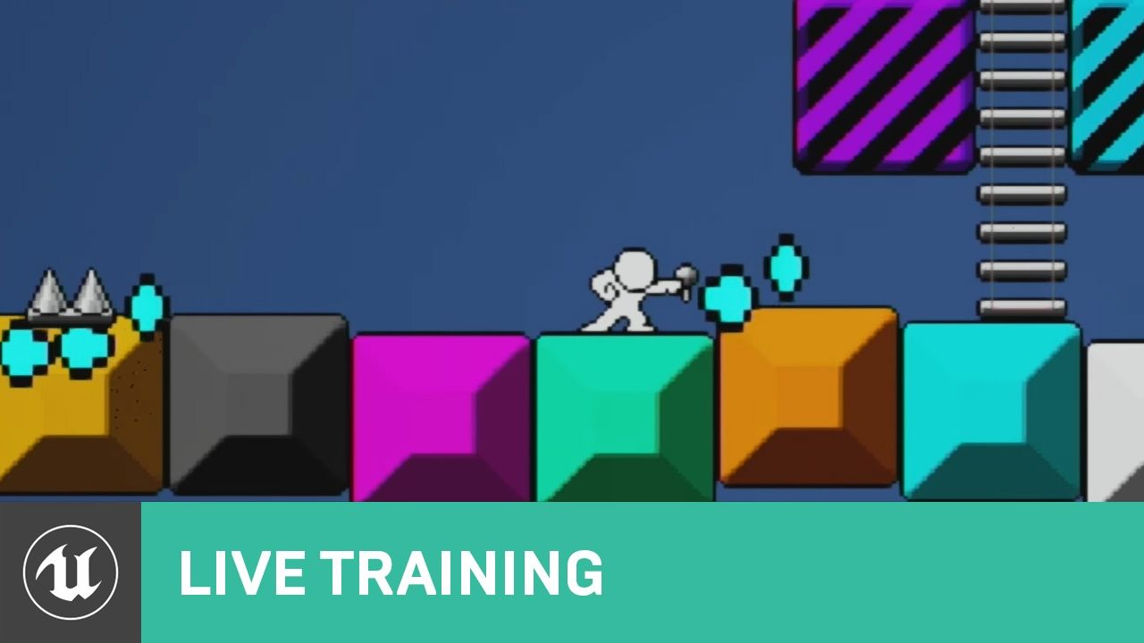 Blueprint Creating a 2D Side-Scroller | 01 | Live Training