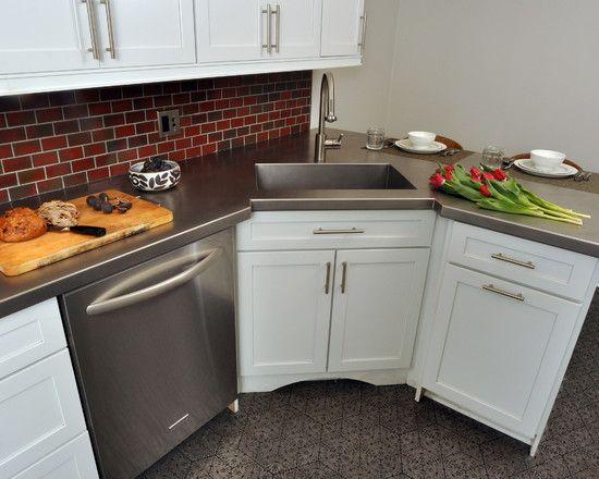 10 Vibrant Corner Sink Kitchen Designs Picture Ideas Corner Sink Kitchen Kitchen Design Small Corner Sink