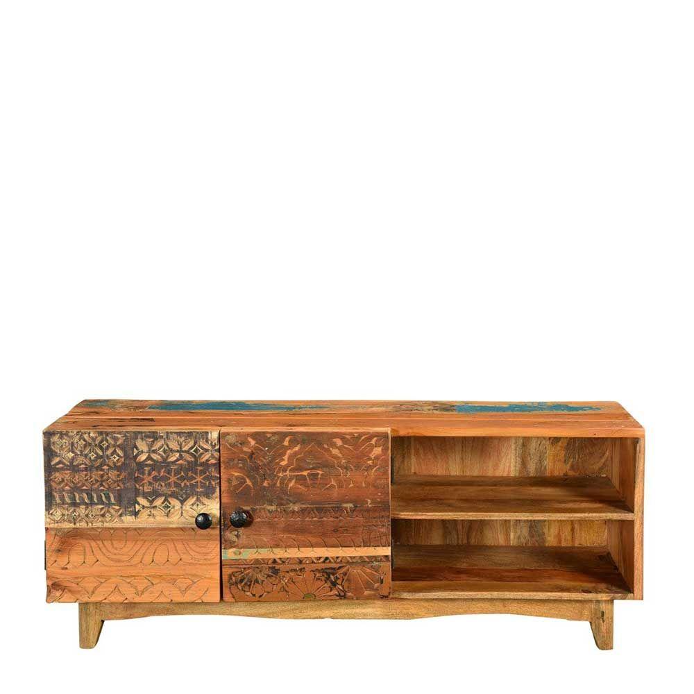 TV Board im Vintage Style Bunt Recyclingholz Jetzt bestellen unter ...