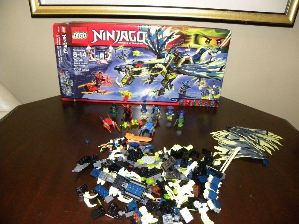 Lego Ninjago Set 70736 Attack Of The Morro Dragon 100 Complete Afflink Lego Ninjago Lego Ninjago
