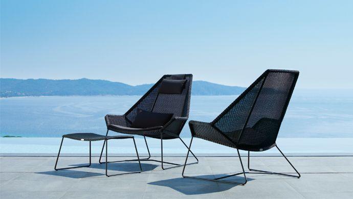 Breeze Highback Garden Chair By Caneline Allgoodthings Danish
