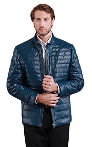 Erechtheus Men's Zip-front Genuine Leather Down Jacket  http://www.allmenstyle.com/erechtheus-mens-zip-front-genuine-leather-down-jacket-2/