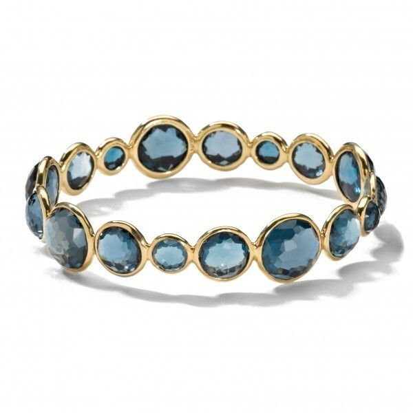Great color to transition your wardrobe from season to season. Mini Lollipop Bangle by Ippolita