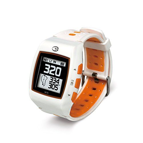 Golf Buddy WT5 Golf GPS Watch, White/Orange Review Golf