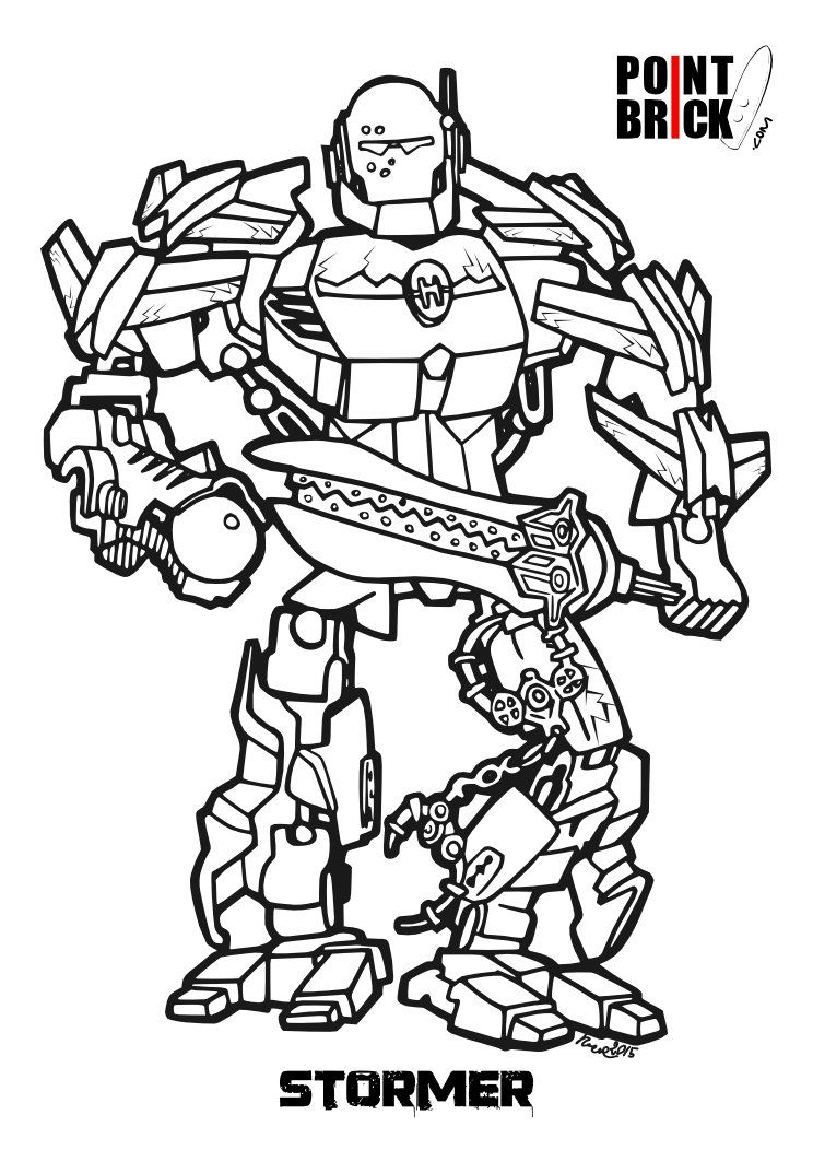 Lego Bionicle Da Colorare Lego Bionicle Coloring Pages