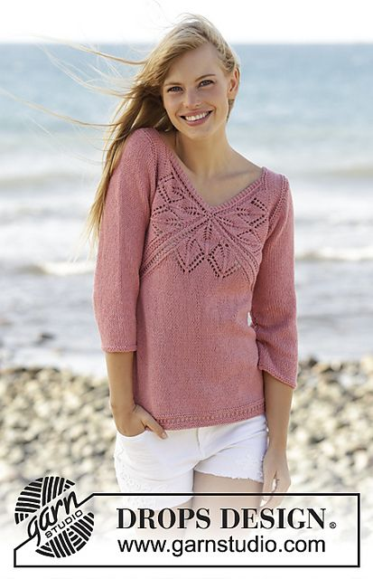 Ravelry 170 3 Butterfly Heart Pattern By Drops Design Crochet And
