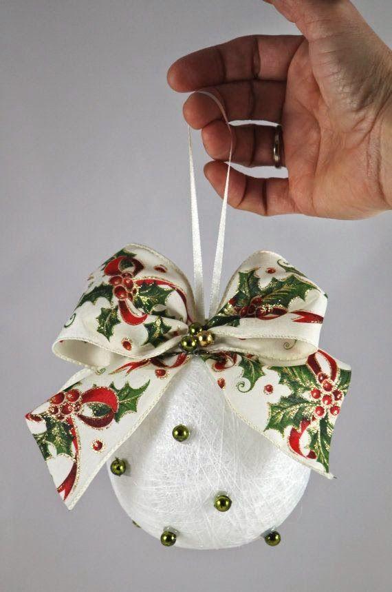 Bolas de Natal, Dicas Para Fazer Ornament, Christmas ornament and