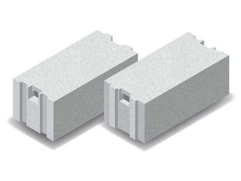 Lightweight concrete block for external wall airbeton 500 for Insulated concrete masonry units