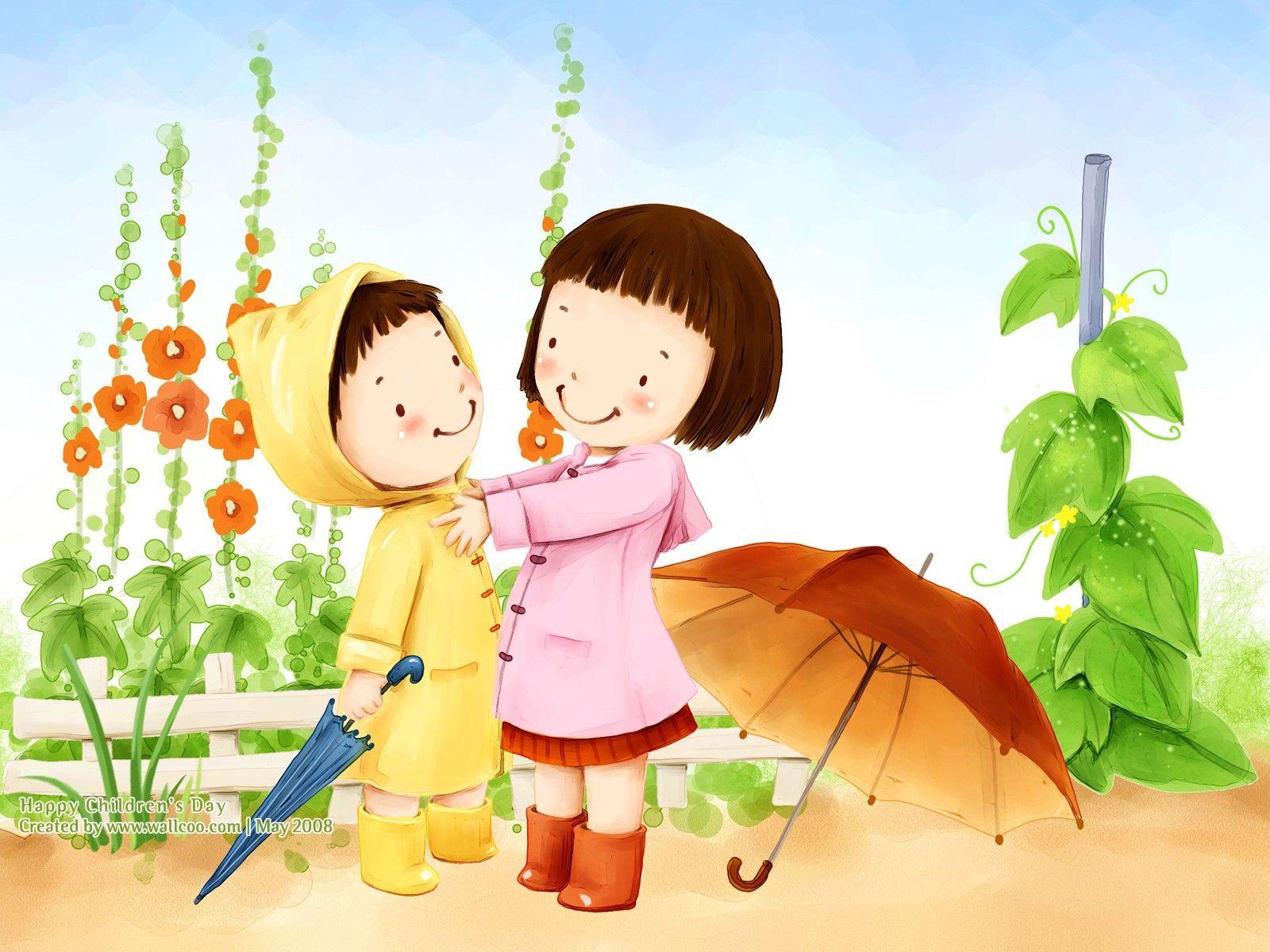 Lovely Illustration Art For Children S Day 1600 1200 No 30 Wallpaper