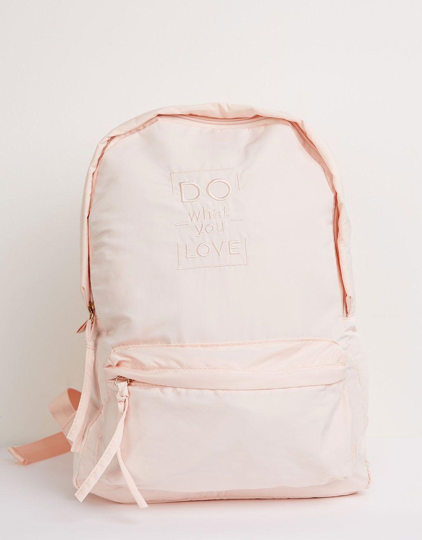 4d96d7ed2e BSK nylon backpack - Accessories - Bershka Turkey