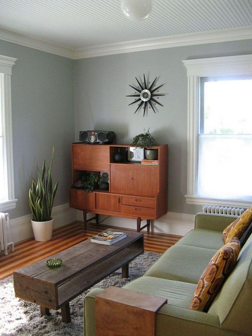34 Admirable Mid Century Modern Living Room Decor Ideas in ...
