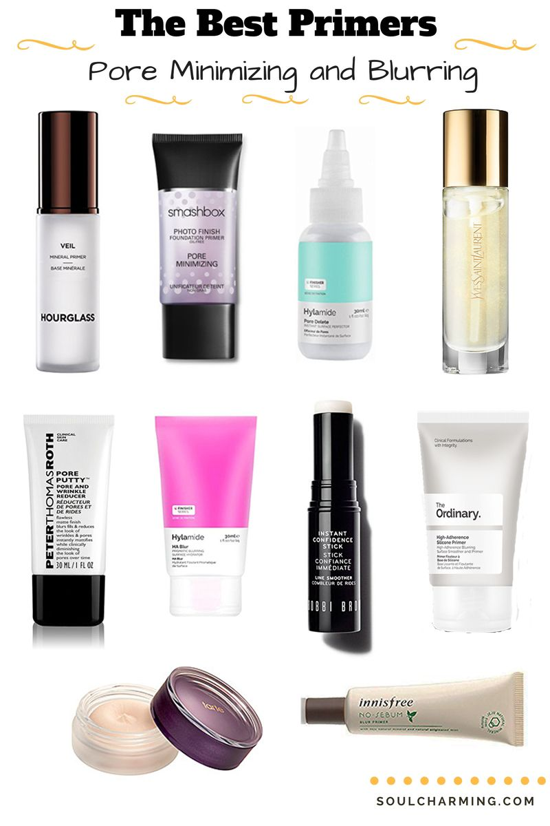 The Best Pore Minimizing And Blurring Primers Having Really Enlarged Pores I Love Primers But I Often Hear Hear A Qu Best Primer Best Makeup Primer Nose Pores