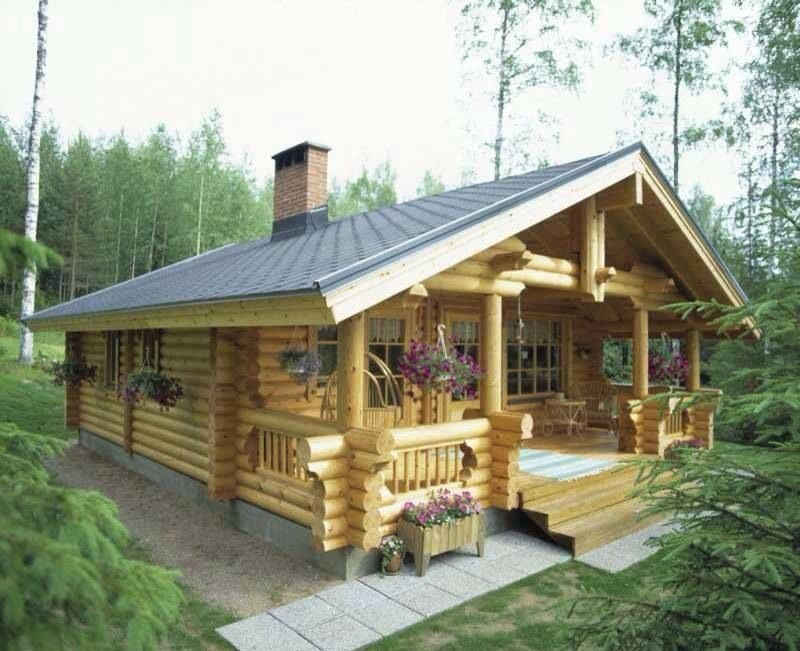 Log cabin design for Piccole cabine rustiche
