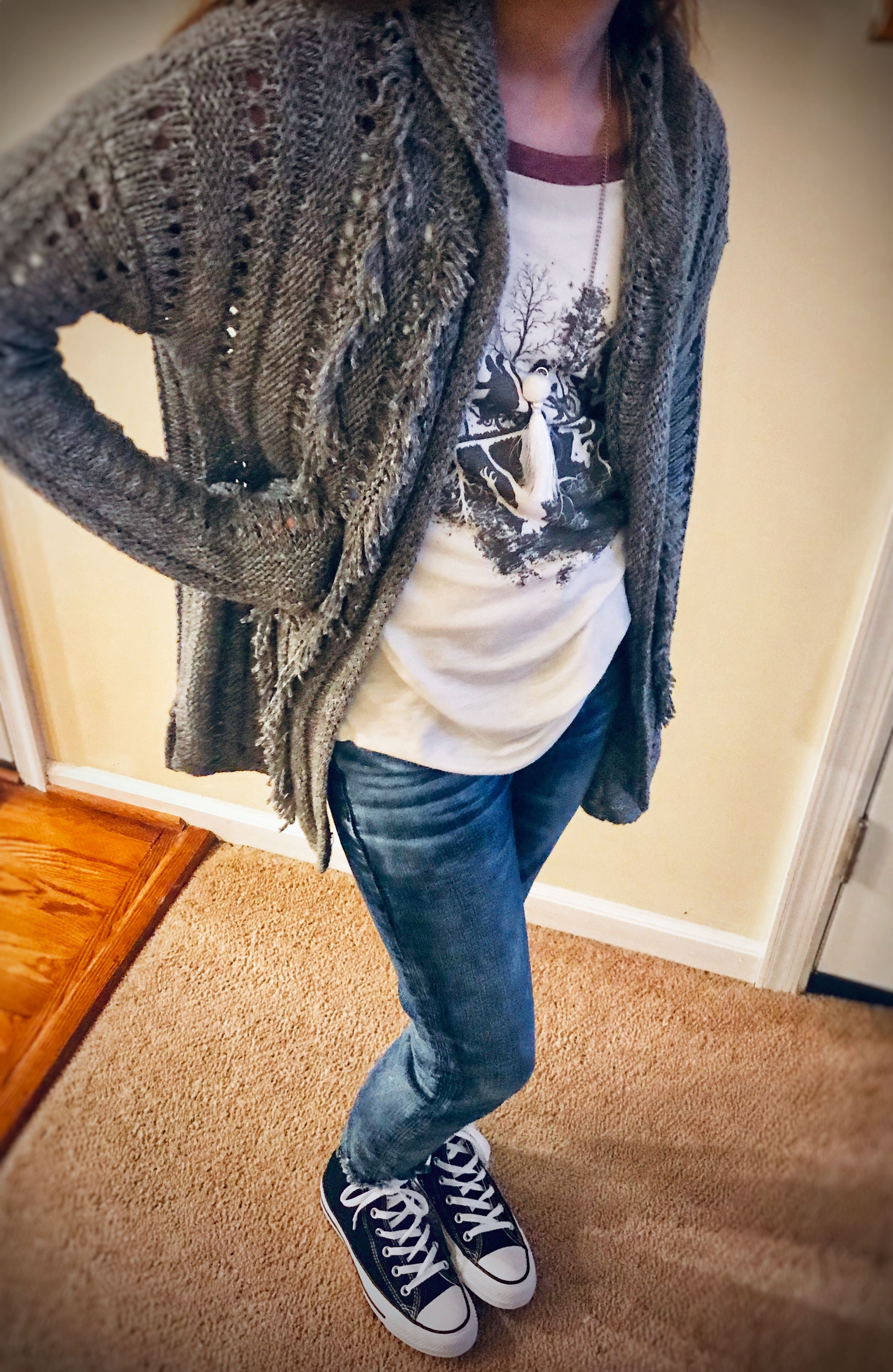 American Eagle Jeans Abercrombie Sweater Stranger Things Shirt