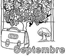Résultat De Recherche Dimages Pour Coloriage Mois De Septembre