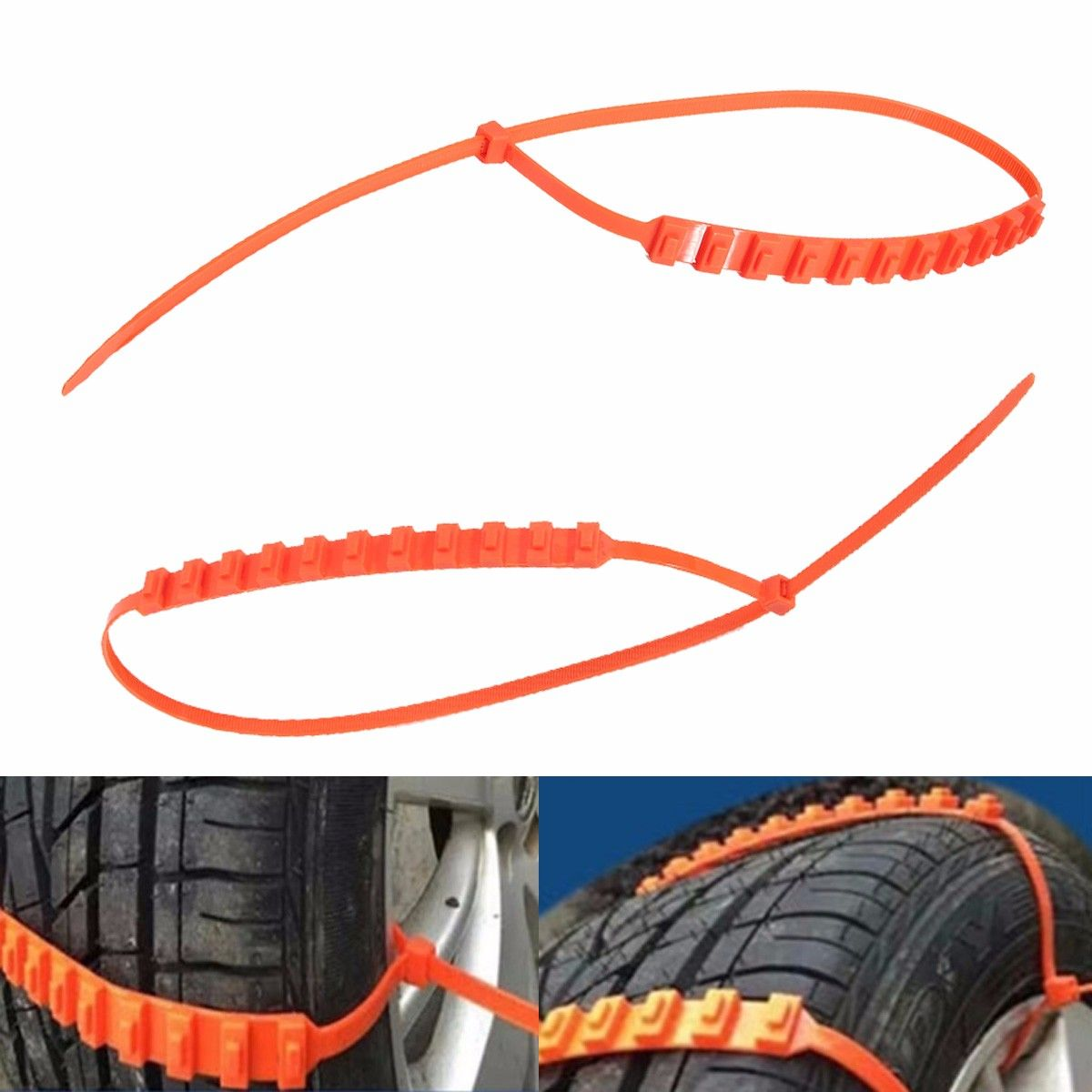 Anti Skid Chains for Automobiales Snow Mud Wheel Tyre Car/Truck Tire ...
