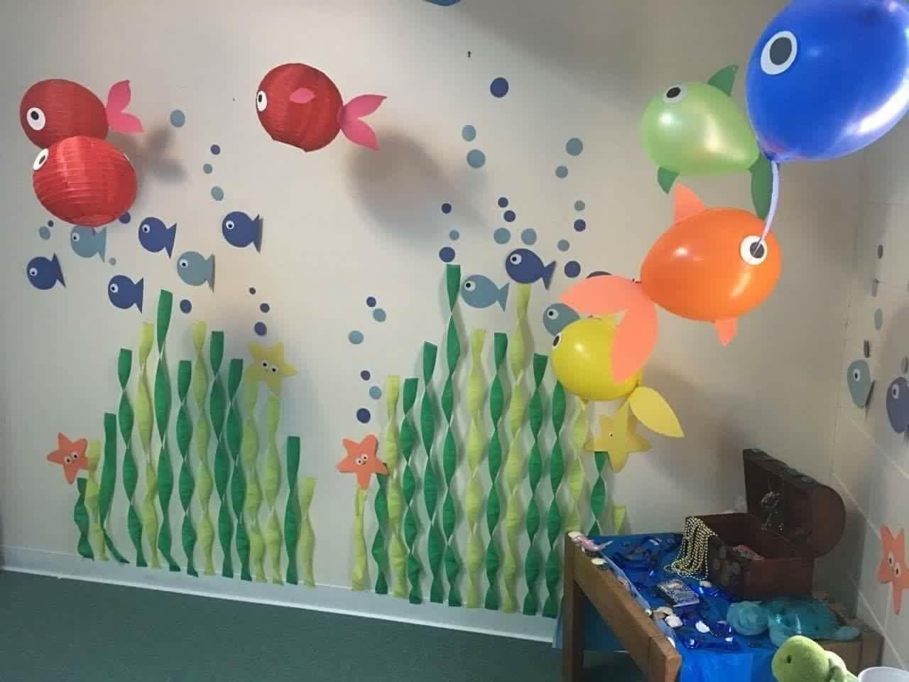 Diy Underwater Birthday Party Decorations Tropicalbirthdayparty