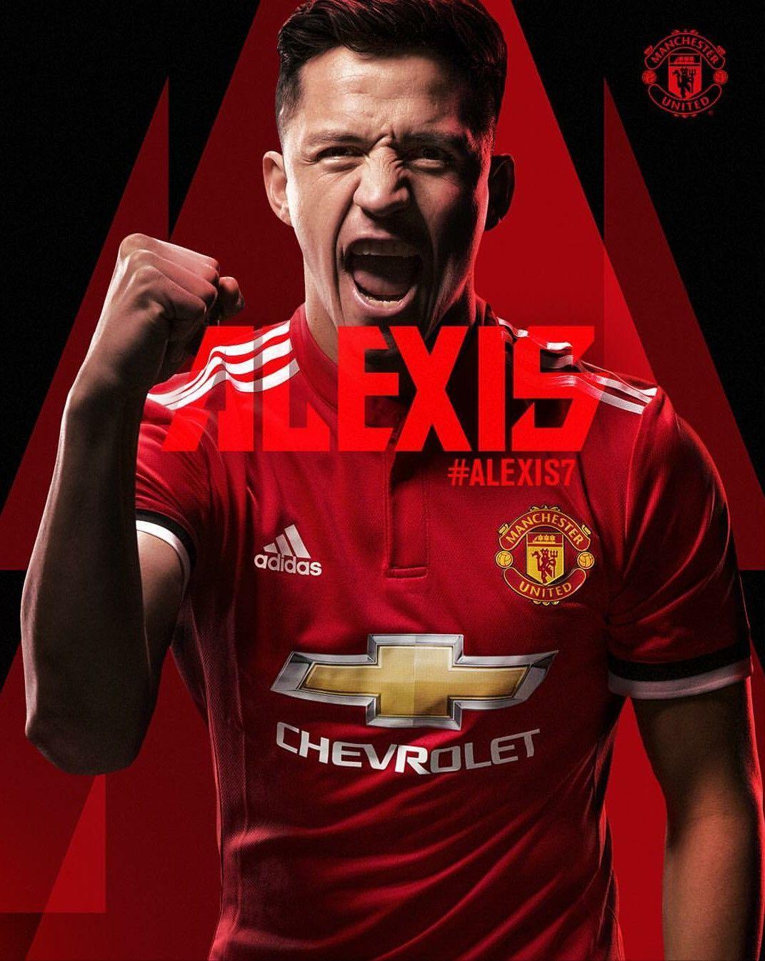 premium selection d7f7e d3363 ALEXIS SANCHEZ in Man Utd | Football world | Manchester ...